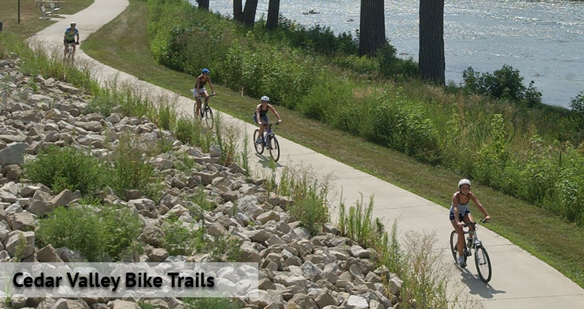 Cedar Valley Bike Trails