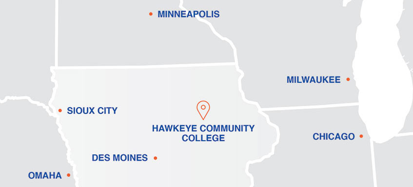 City Colleges Of Chicago Map.Locations Hawkeye Community College