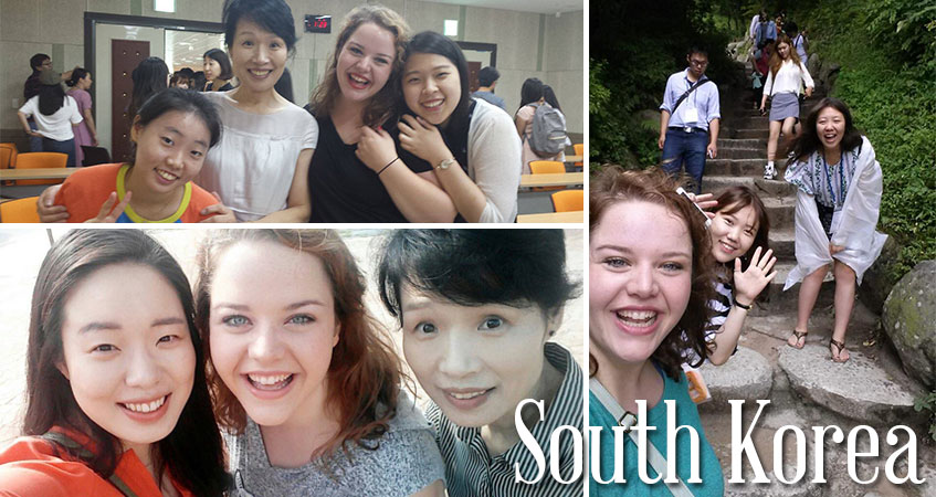 Students traveled to South Korea. Visit the Study Abroad blog to read about the trip from a student perspective.