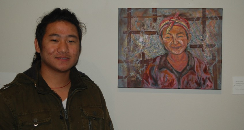Juried Art Exhibit Shows Work by College Students