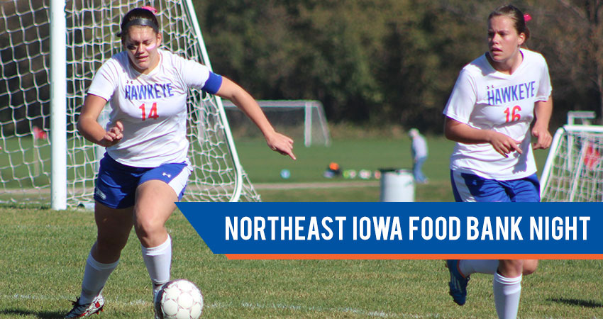 Women's Soccer vs. Mount Mercy University—Northeast Iowa Food Bank Night