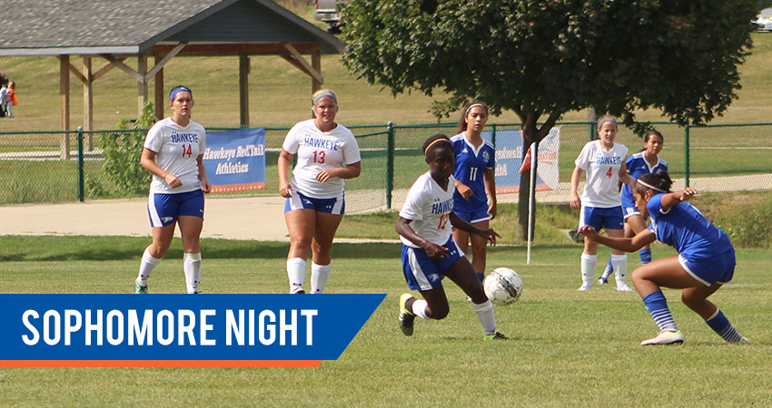 Men and Women's Soccer vs. Iowa Lakes Community College—Sophomore Night