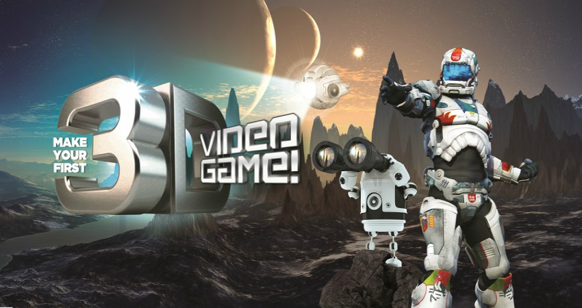 Make Your First 3-D Video Game Camp! (Ages 8-11)