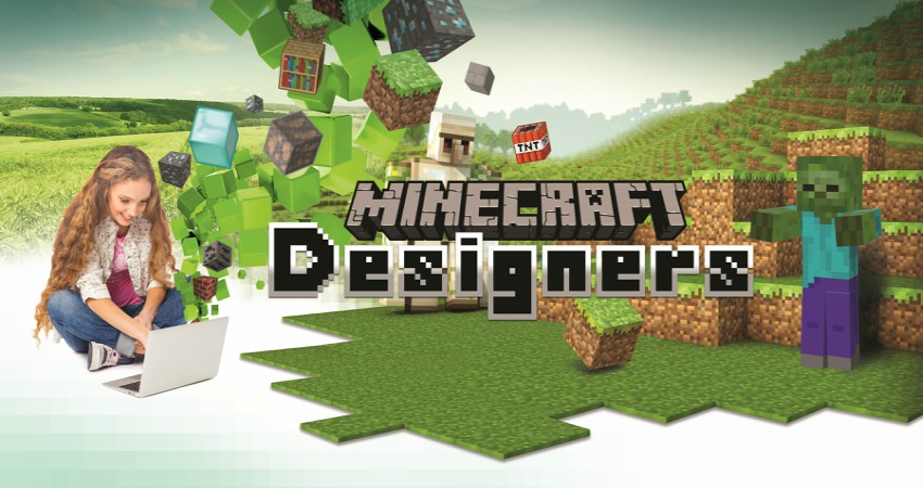 Minecraft Designers for Kids on the Autism Spectrum Camp (ages 8–11)