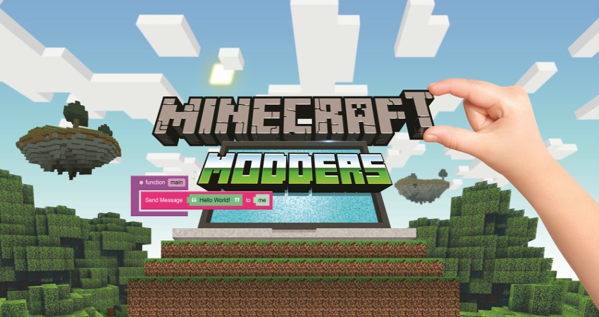 Minecraft Modders Camp (ages 8–11)