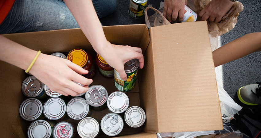 Clubs and Organizations Food Drive