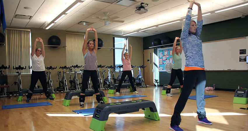 Fall Group Fitness Classes Begin