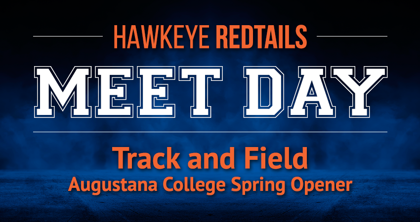 Men's and Women's Track and Field Meet—Augustana College Spring Opener