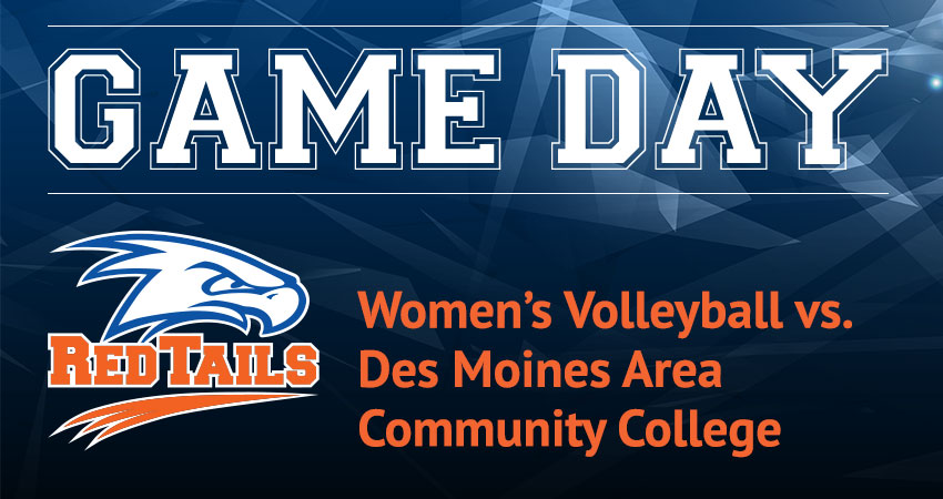 Women's Volleyball vs. Des Moines Area Community College