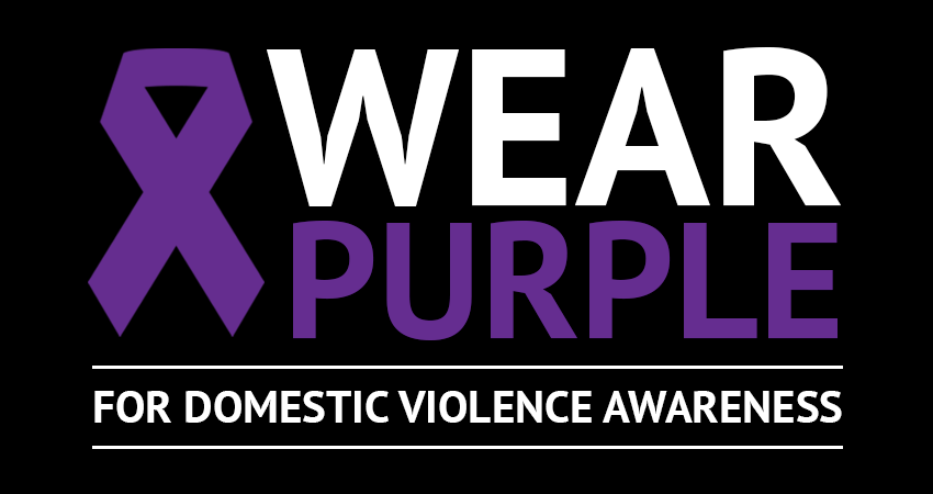 Wear Purple for Domestic Violence Awareness