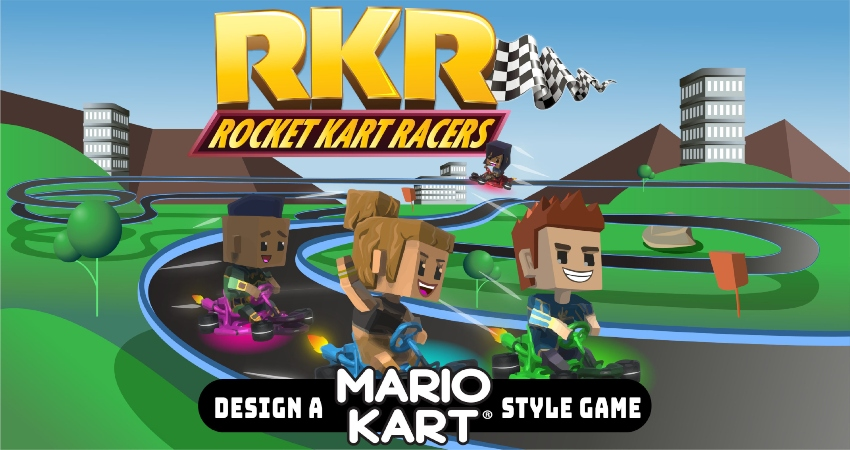 Rocket Kart Racers: Design a Mario Kart Style Game 11 - 14