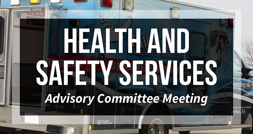 School of Interprofessional Health and Safety Services Advisory Committee Meeting