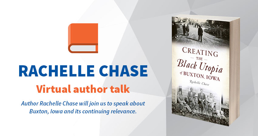 Virtual Author Talk with Rachelle Chase