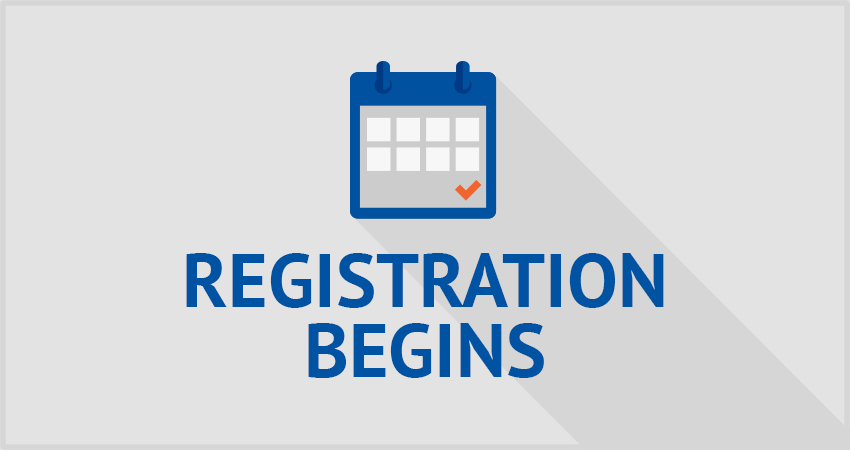 Fall and Summer 2020 Registration Begins