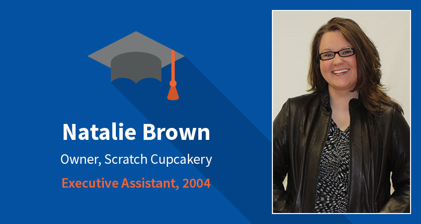 Natalie Brown. Owner, Scratch Cupcakery. Executive Assistant, 2004. Read Natalie's story.