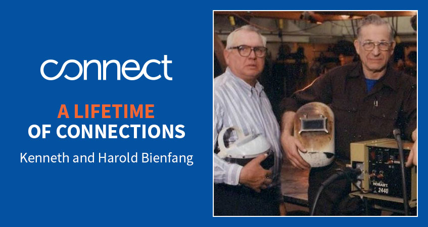 A lifetime of connections. Read Kenneth and Harold Bienfang's story.
