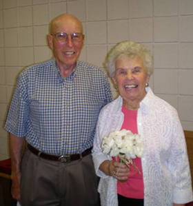 Jim and Marge Polacek celebrate their 50th wedding anniversary