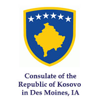 Consulate of the Republic of Kosovo in Des Moines, IA