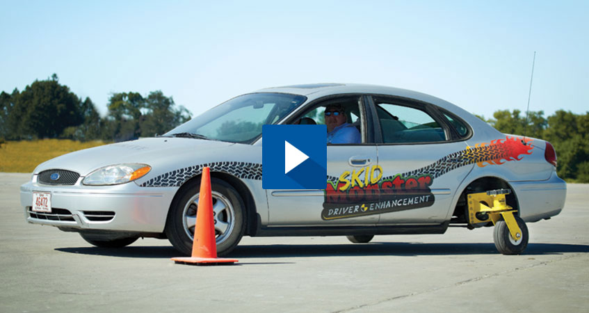 Skid Monster Driving System