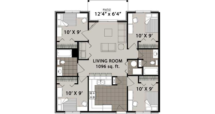 Avoid The Hles Of Commuting And Enjoy Amenities Comforts Comfortable Apartment Living At Hawkeye Towers Apartments