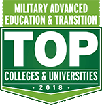 Hawkeye recognized in Military Advanced Education & Transition Guide to Top Colleges and Universities: 2018.